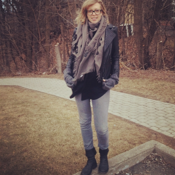 OOTD shades of grey